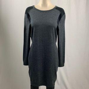 Michael Michael Kors  Grey/Black Sweater Dress M